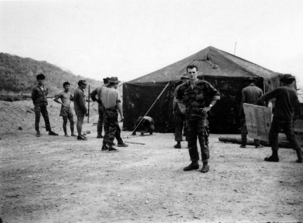 Lt. Arthur W. Reed SF Camp Commander Detachment A–102a, Ashau Valley, Vietnam (1965).