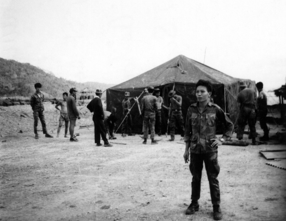 Vietnamese CIDG Camp Commander Captain Nguyen (1965)